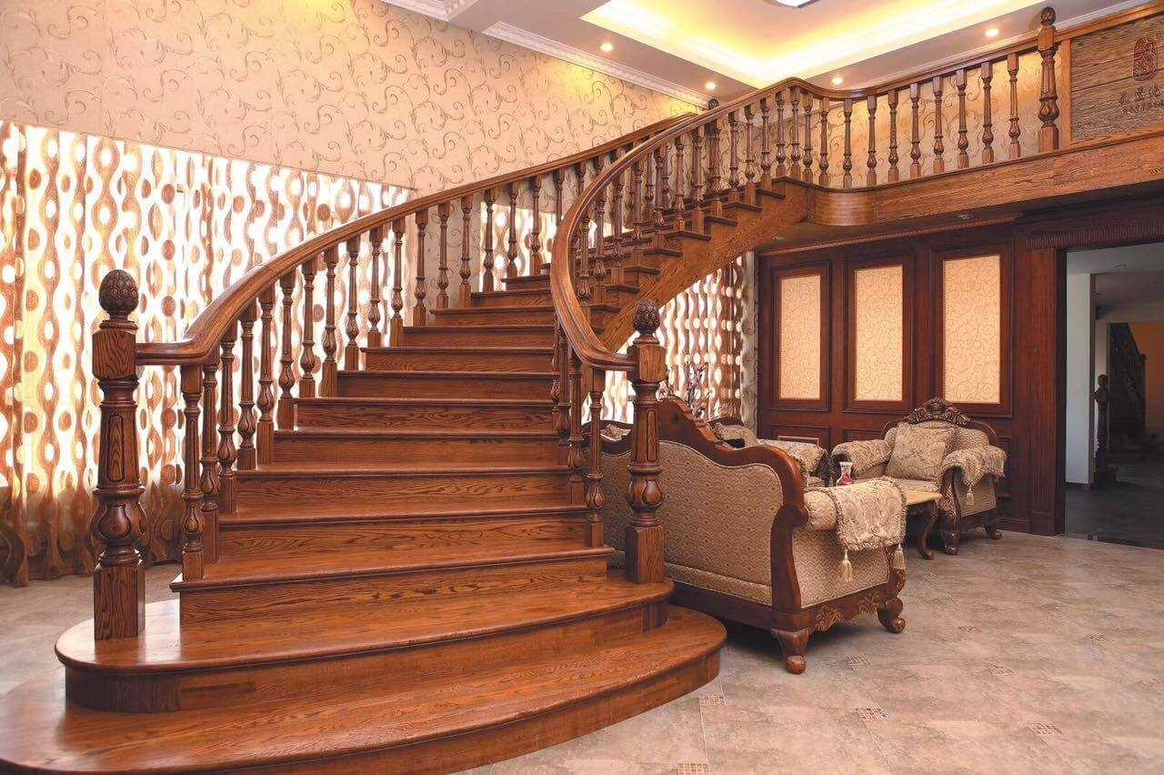 How To Select The Right Railing Design | Wooden Railing Designs For Stairs | Wrought Iron | Unique | Minimal Railing | Brown | Balcony