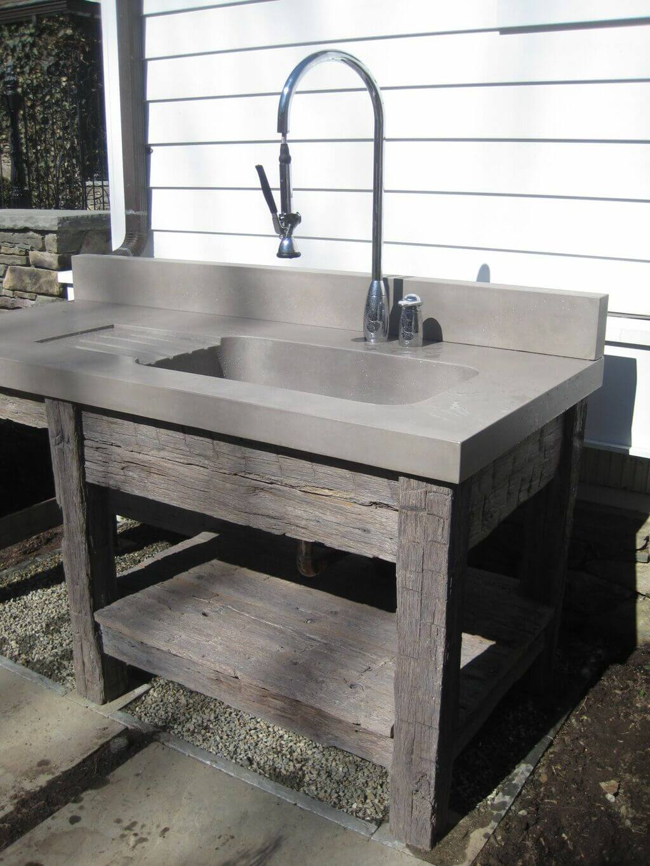 diy outdoor sink 11 creative and