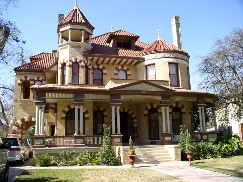 Queen Anne   Architectural Styles of America and Europe Queen Anne
