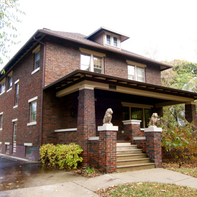 American Foursquare style house