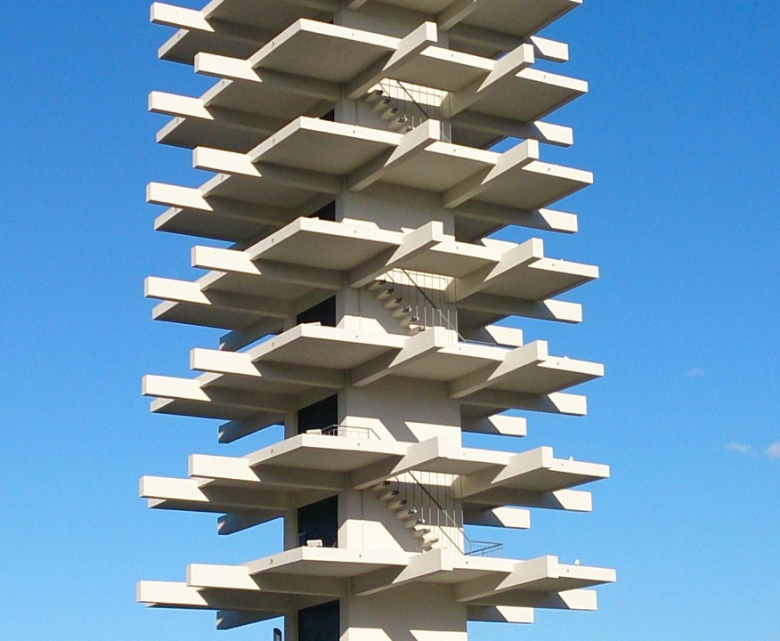 1964 - Komazawa Olympic Park Control Tower - Yoshinobu Ashihara