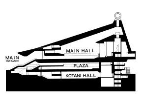 1975 - Reiyukai Shakaden Temple - Takenaka Corporation