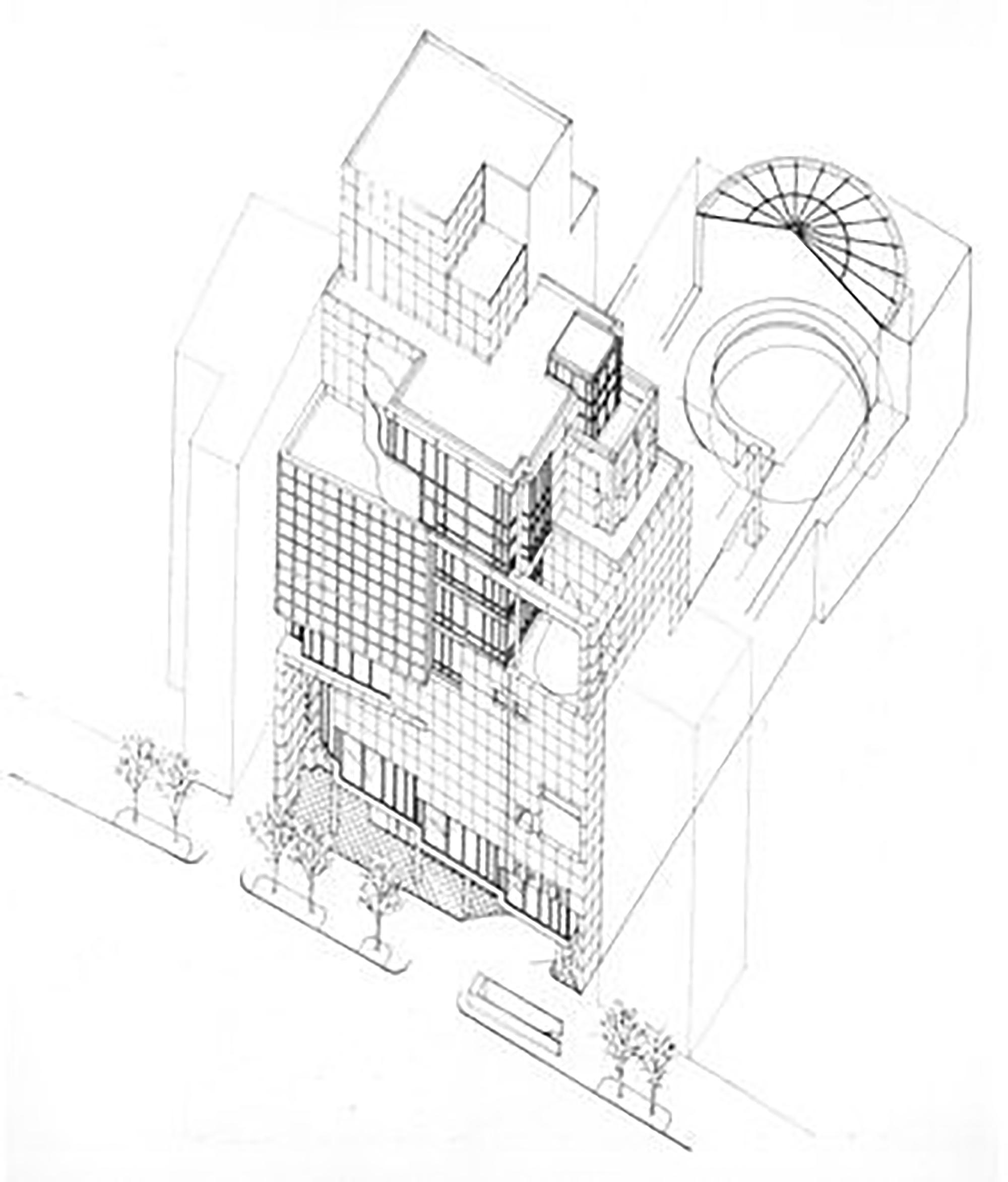 Axo Architecture Tokyo