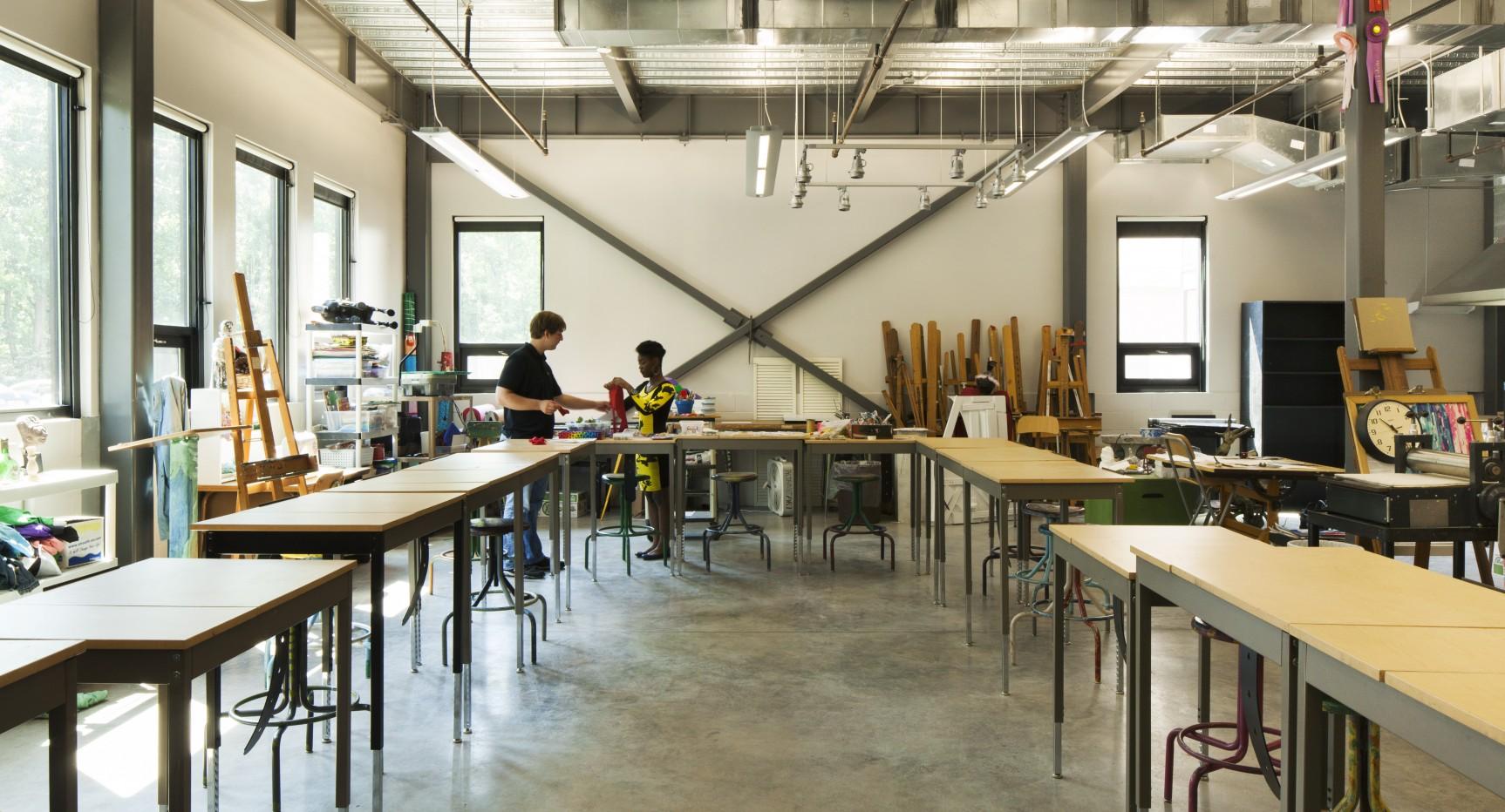 Altamont School Fine Arts Center ArchitectureWorks