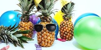 baloniki i ananasy w okularach