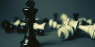 trudna partia szachów