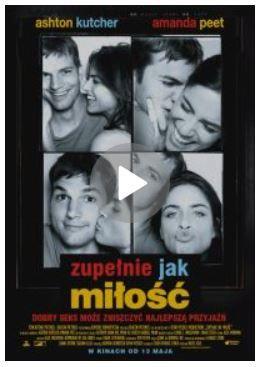 """okładka filmu """"Zupełnie jak miłość"""""""