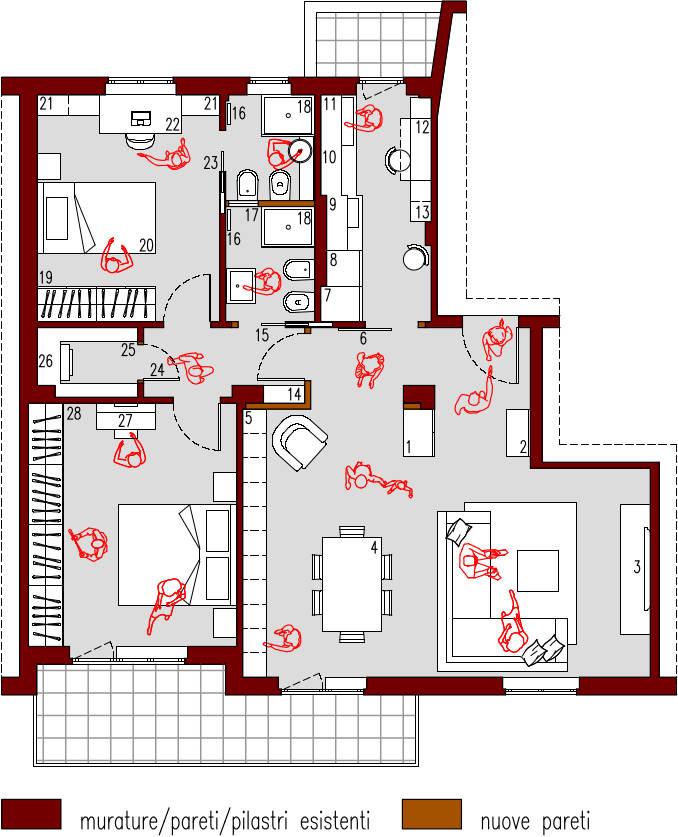 progetto-online-80-mq-appartamento-cucina-indipendente-dividere-bagno-in-due-planimetria-arredata