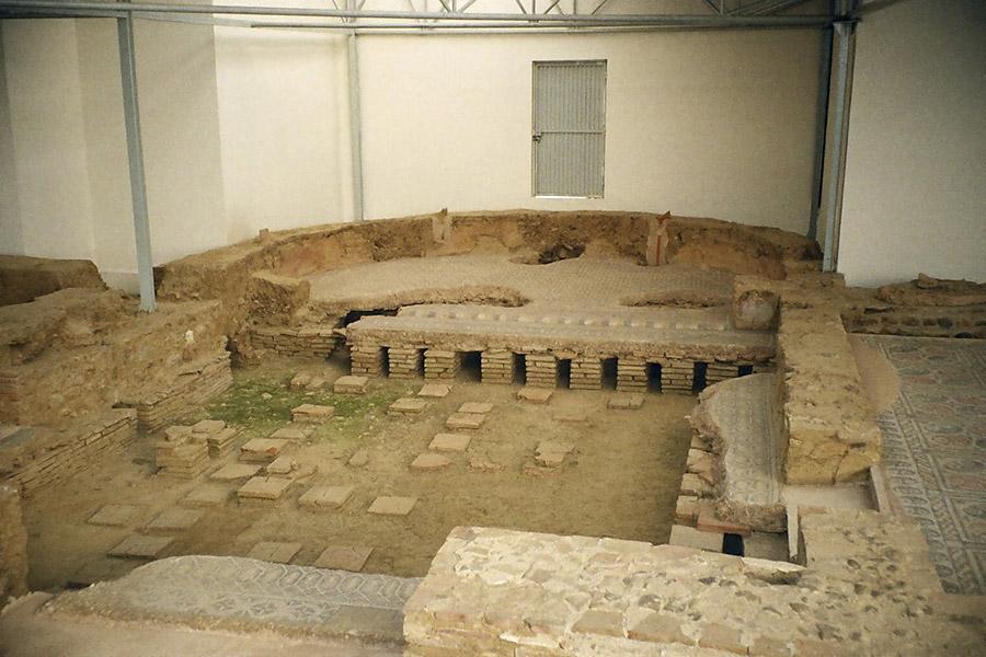 ipocausto terme romane