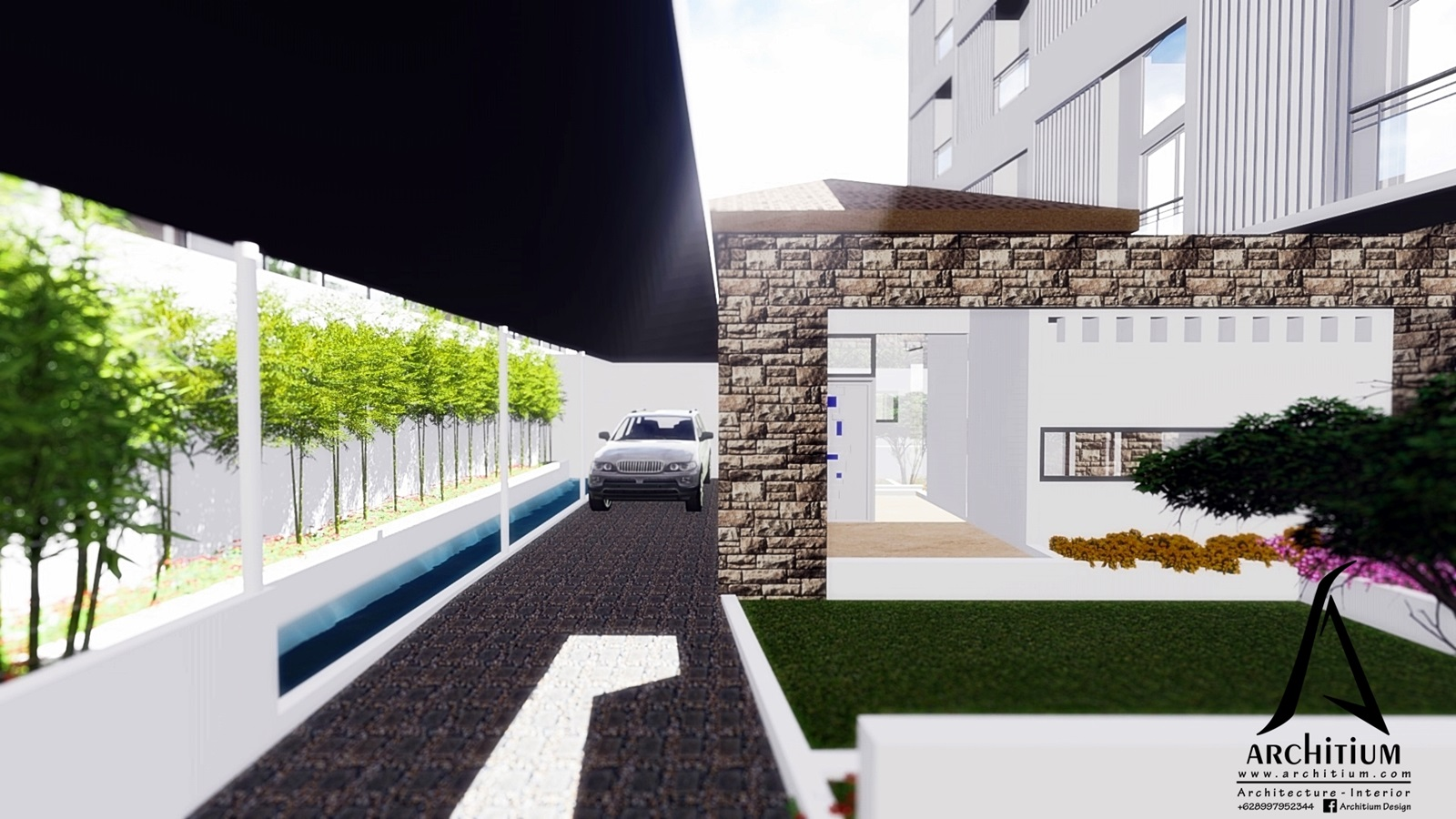 Architecture-Boarding House-Bandung-House