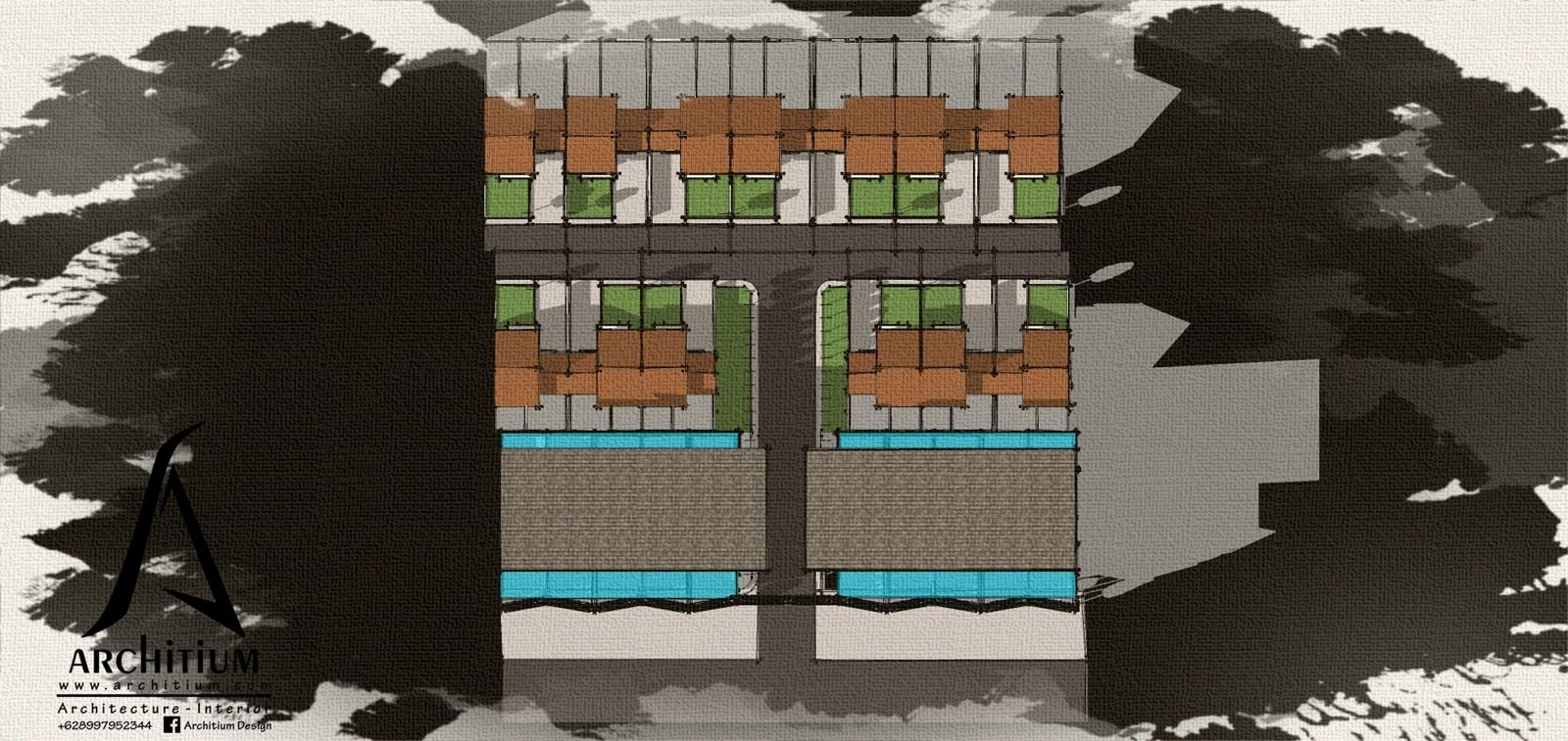 Architecture-House-Bandung-Ciganitri-Cluster-Siteplan