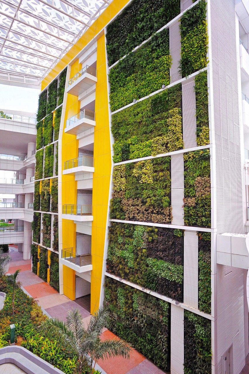 vertical garden institute ITE College Central - Architizer