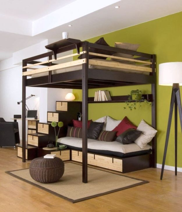 super cool loft bed for grownups