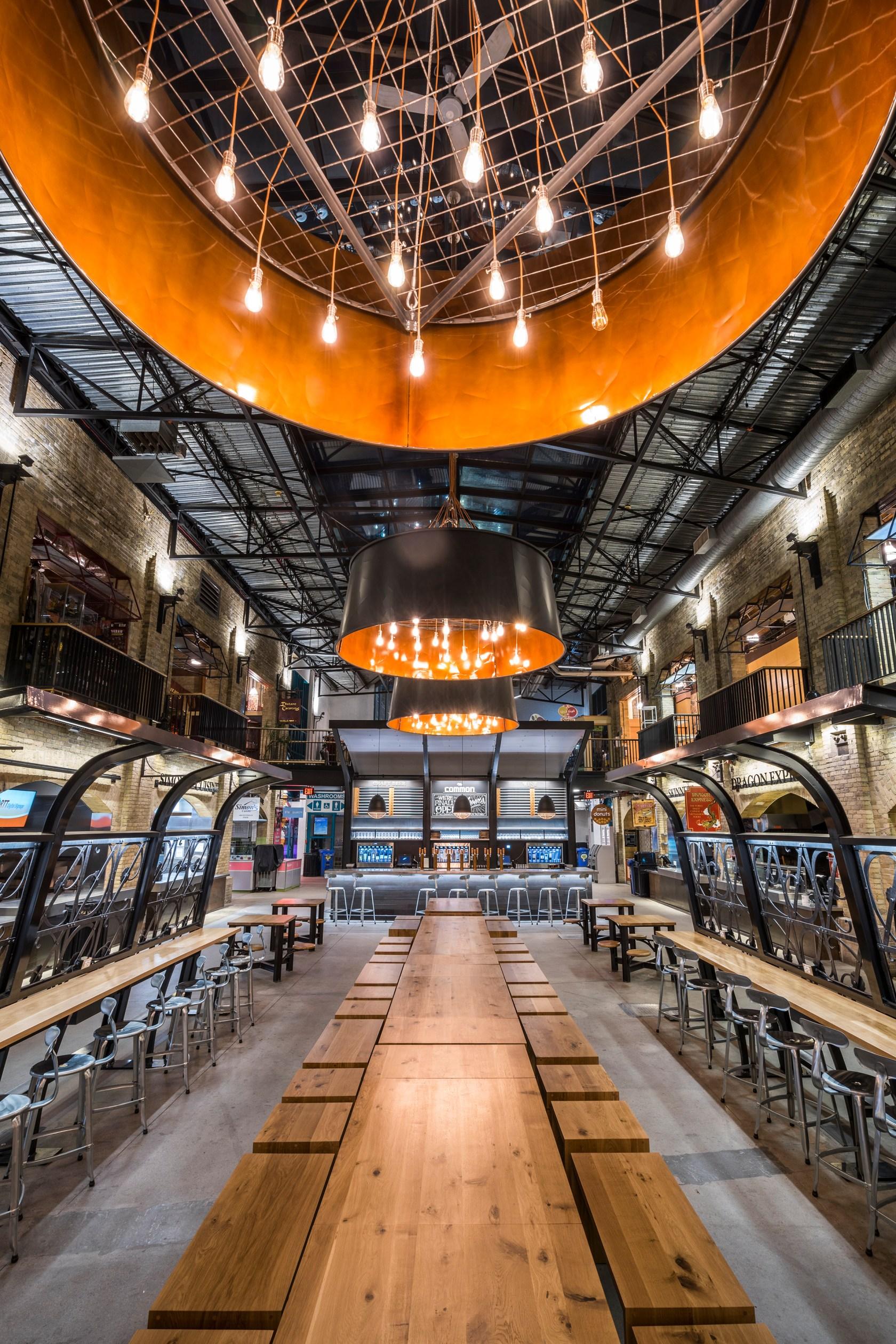 The Forks Market Food Hall - Architizer