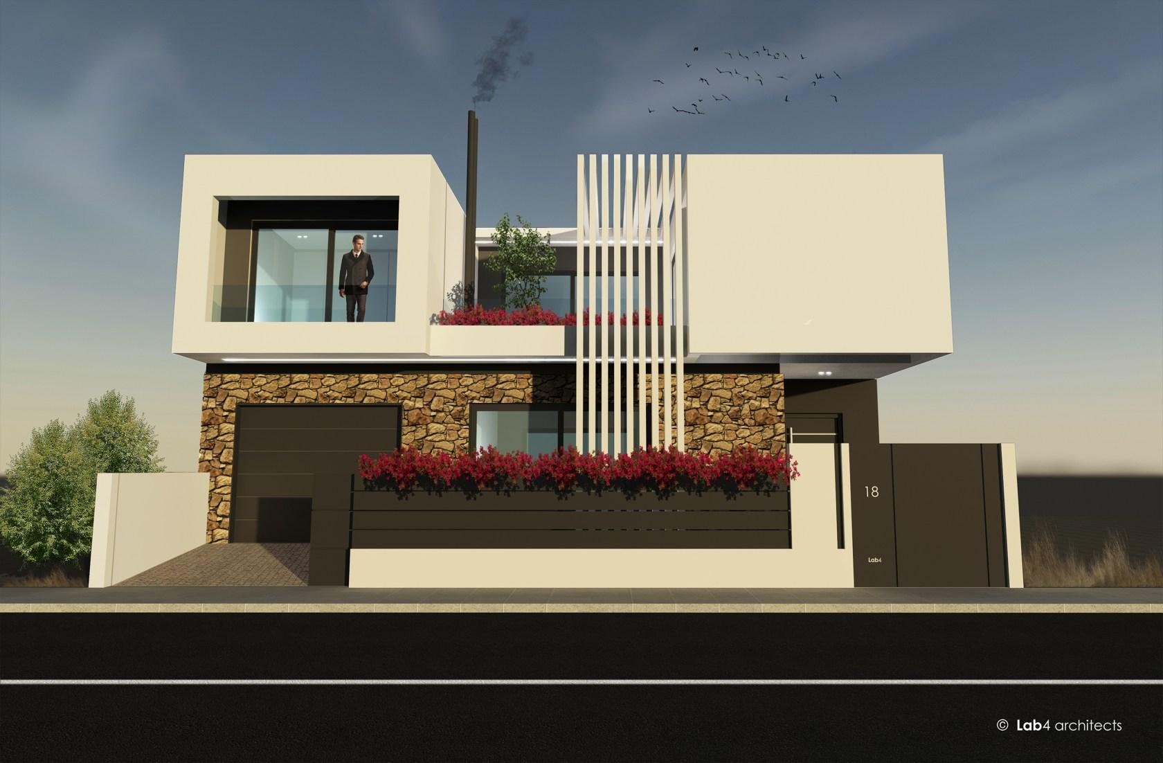 House In Larissa Architizer