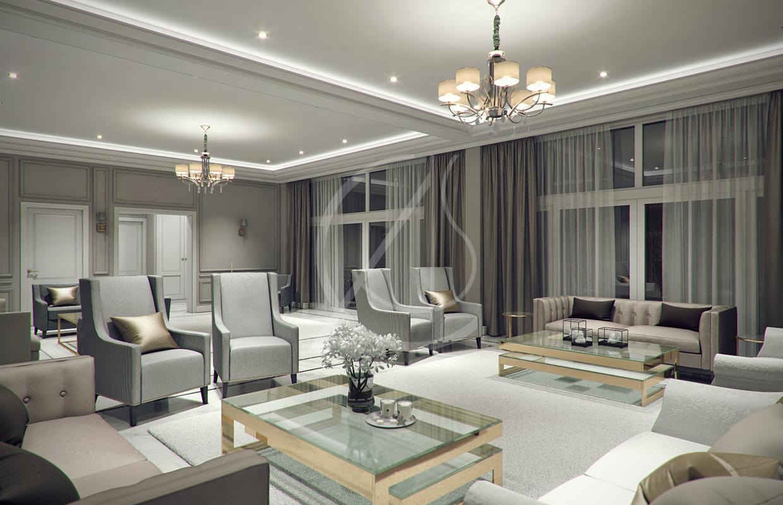 Modern Classic Villa Interior Design by Comelite ... on Interior:ybeqvfpgwcq= Modern House  id=59684