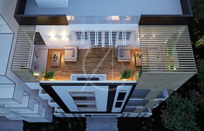 Modern Apartment Exterior Design On