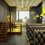 Modern Fast Food Restaurant Interior Design By Comelite Architecture Structure And Interior Design Architizer