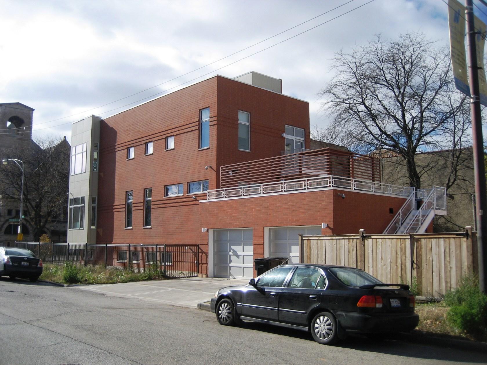 Chicago Eco Haus Architizer