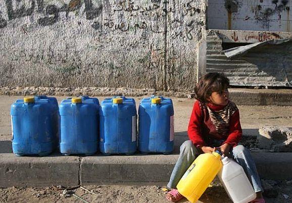 Palestina tiene sed