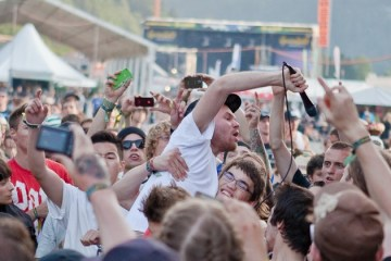 Enter Shikari beim Bad in der Menge (Francesci Tancredi)