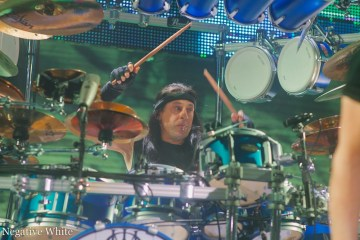 Mike Mangini in seinem Element (Sacha Saxer)