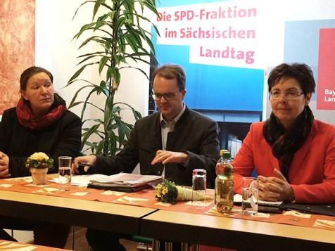 Sabine Friedel (Sachsen), Markus Rinderspacher (Bayern), Heike Taubert (Thüringen)