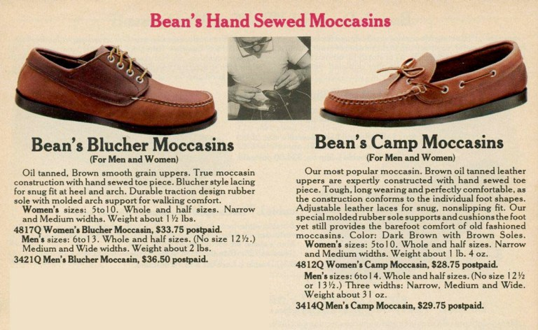 LL Bean Camp Moccasins