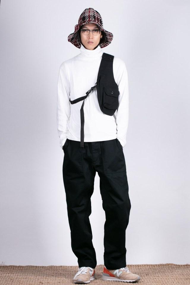 Engineered Garments shoulder vest