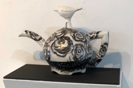 Tea Pot with Bird