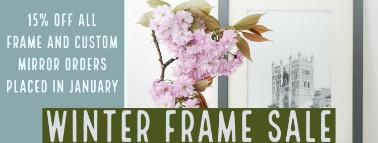 Winter Frame Sale 2019
