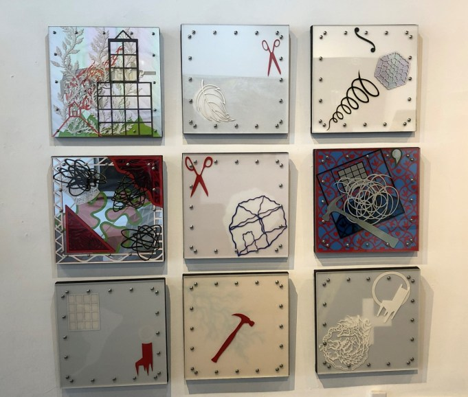 9 piece grid (sold individually)