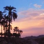 Sunset in Bandar Abbas