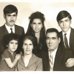 Portrait of Armenian-Iranian Family in Tehran