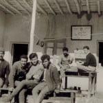 Knowledge Corps Members and Turkmen Villagers at their School