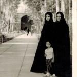 Family Visiting the Khwāj-i Rabī'ī Mausoleum