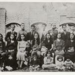 Farazi Family Portrait in Khorramabad during WW2