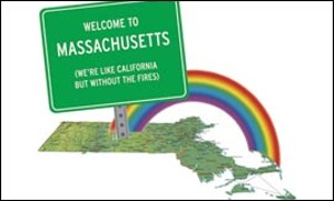 Image result for massachusetts gay marriage