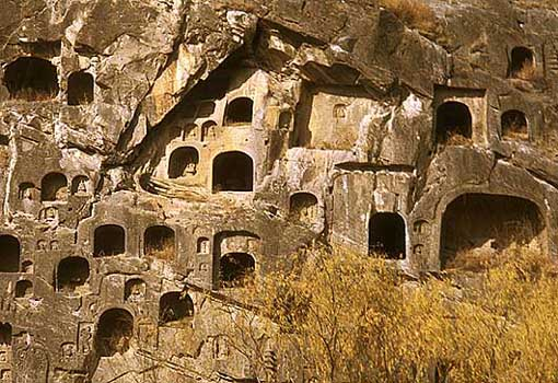 Lung Men Meditation Caves Sui Dynasty Chinese Dynasty