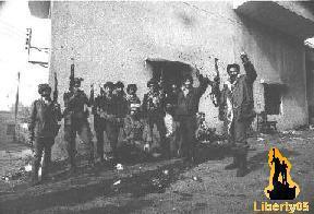 Պաղեստինցի զինեալներ Տամուրի մէջ