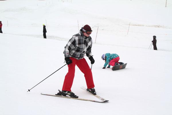 Ako lyžovať? Jednoducho!