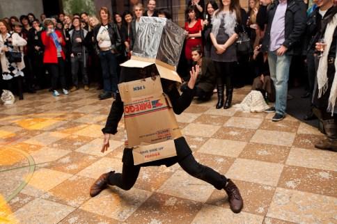 Robot dance off