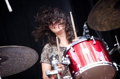 Warpaint's Aussie drummer Stella Mozgawa