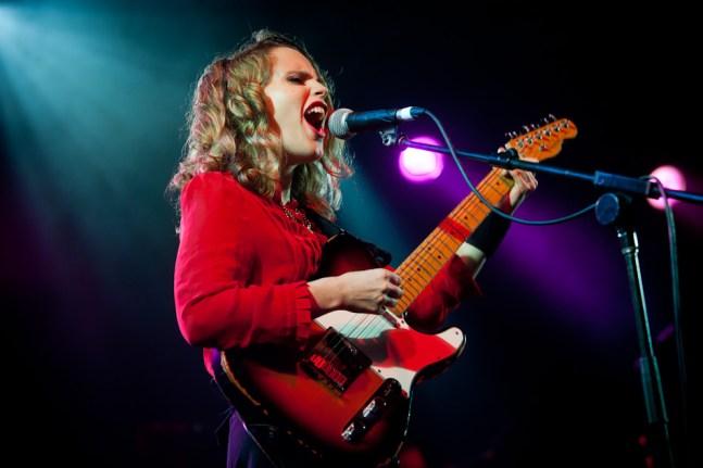 Anna Calvi - Laneway Festival Brisbane 2012