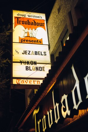 I saw the Jezabels, but the venue wouldn't let me shoot inside