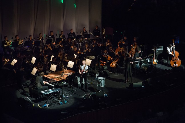 Sarah Blasko with the Sydney International Orchestra