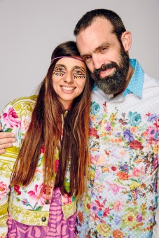 Paz Lenchantin and Johnny Seymour