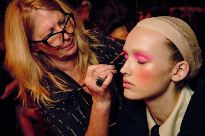 Val Garland on makeup for MAC Cosmetics