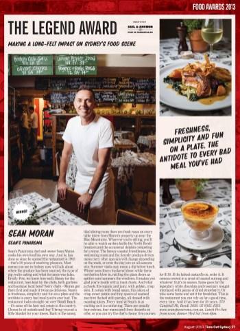Sean Moran of Sean's Panaroma