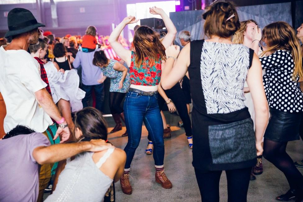 Dancing to The Julie Ruin